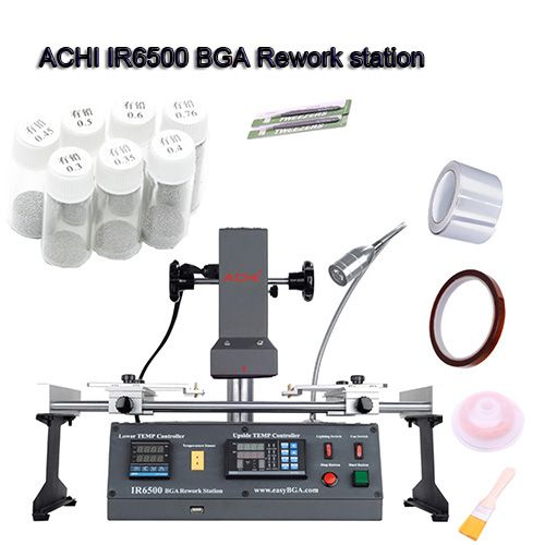 ACHI IR6500 V.2 Infrared IR BGA rework station for Motherboards Repair BGA Work