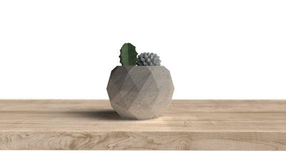 Moule en SILICONE sphère géodésique moyen réutilisable moule de bougie moule en béton moules de Vase