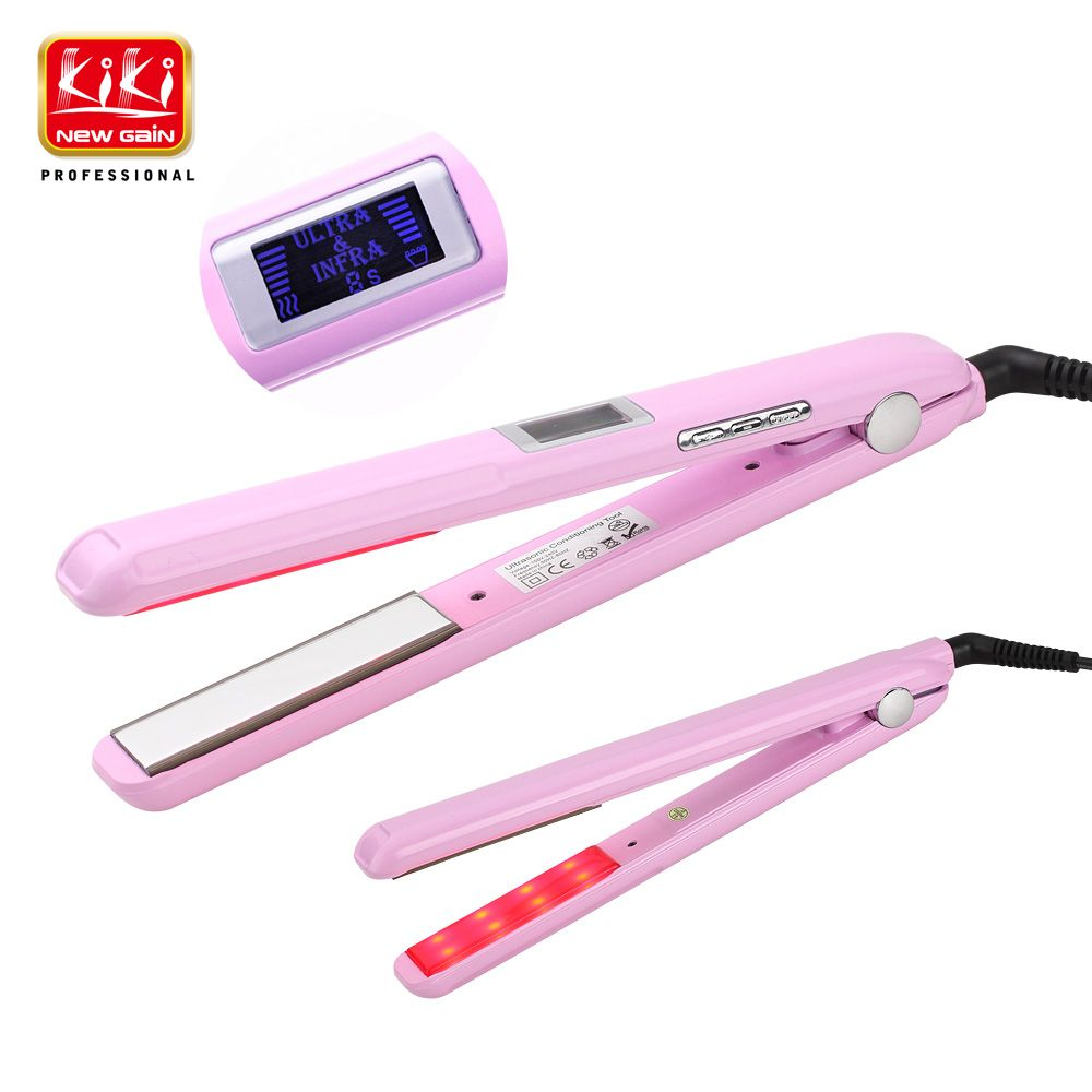 2017.Ultrasonic & Infrared Hair Care Iron Recovers the damaged hair Hair Treament Styler Cold Iron Hair Care Treatment