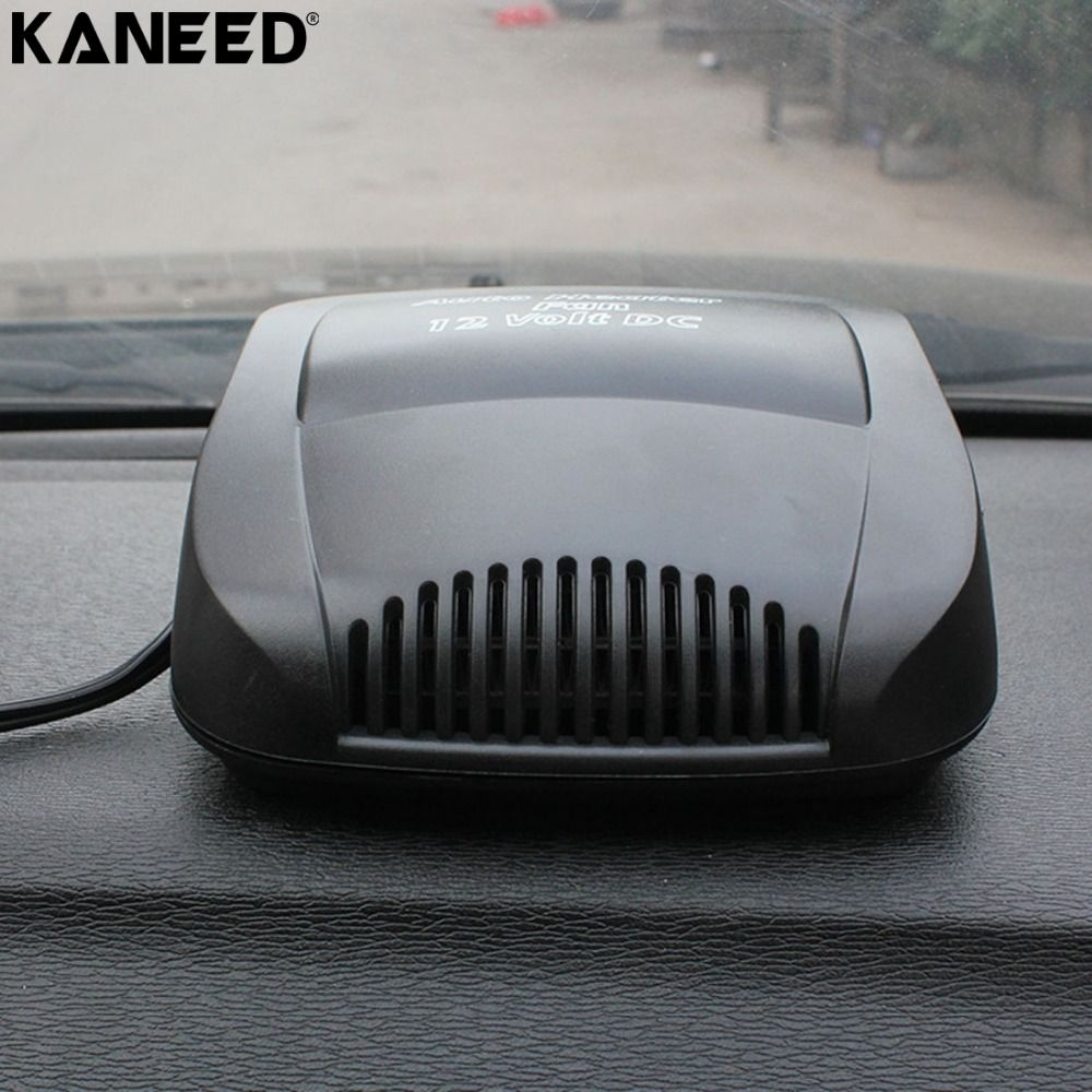 KANEED 12V Car Heater Fan Windscreen Demister Universal Car Vehicle Electric Cold Warming Fan Heated on Dashboard