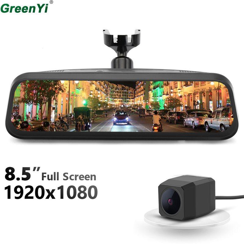 GreenYi 1080P Dual Lens 8.5
