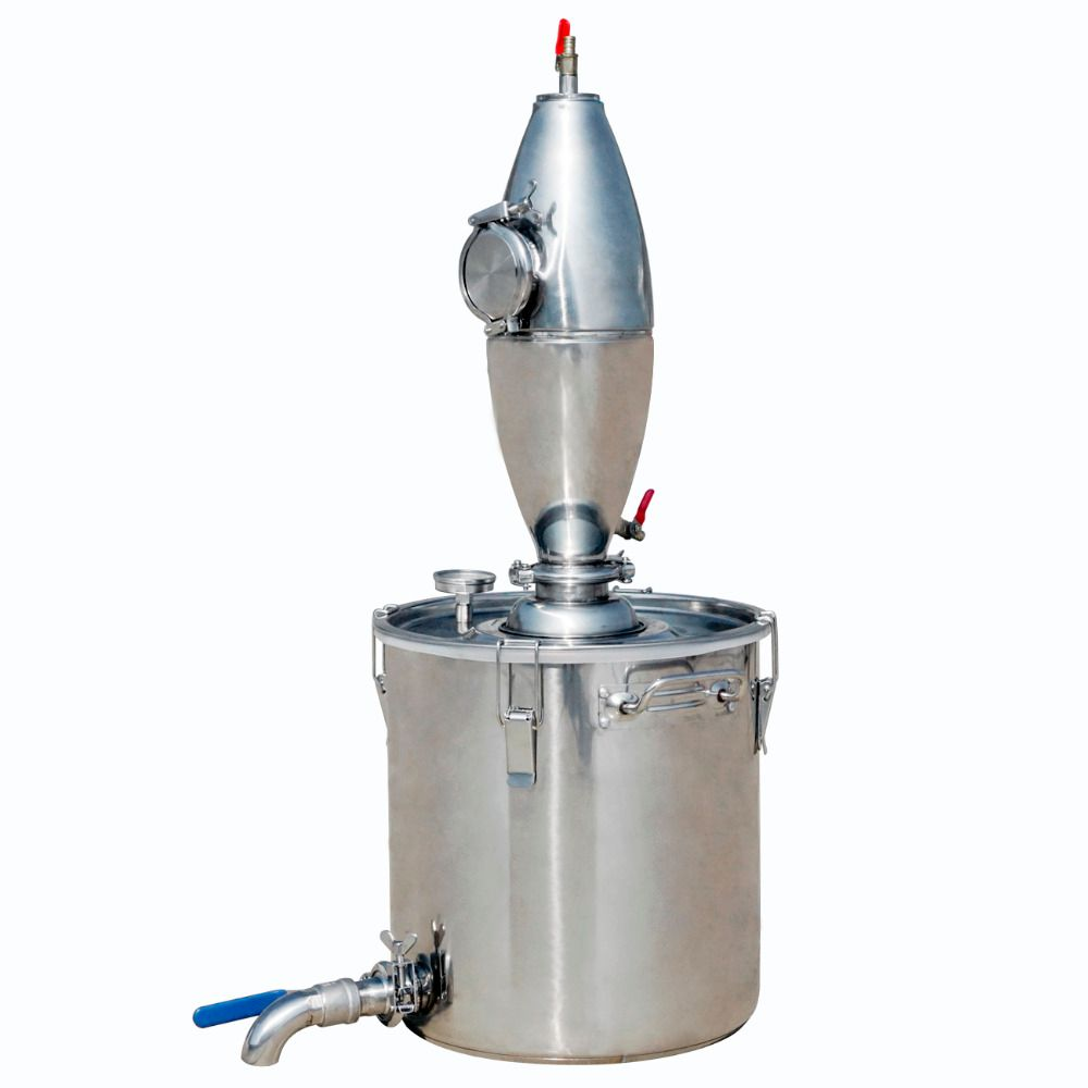 ECO-SOURCES 65L Stainless Alcohol Distiller Home Brew Kit Beer Wine Making Boiler Brewed wine