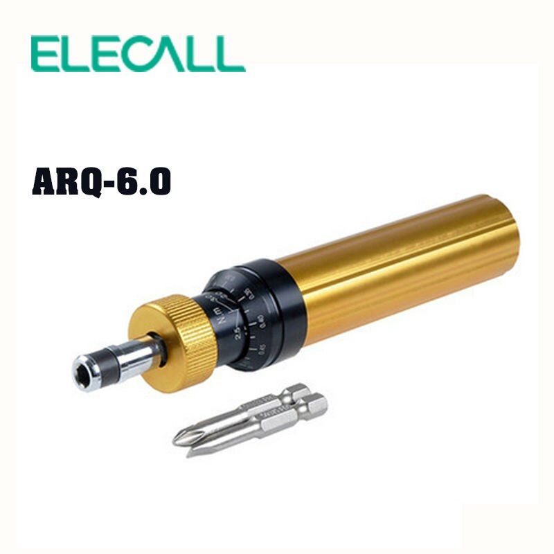 ELECALL ARQ-6 Torque Screwdriver With Phillips And Straight Screwdriver Precision Electric Screwdriver Set