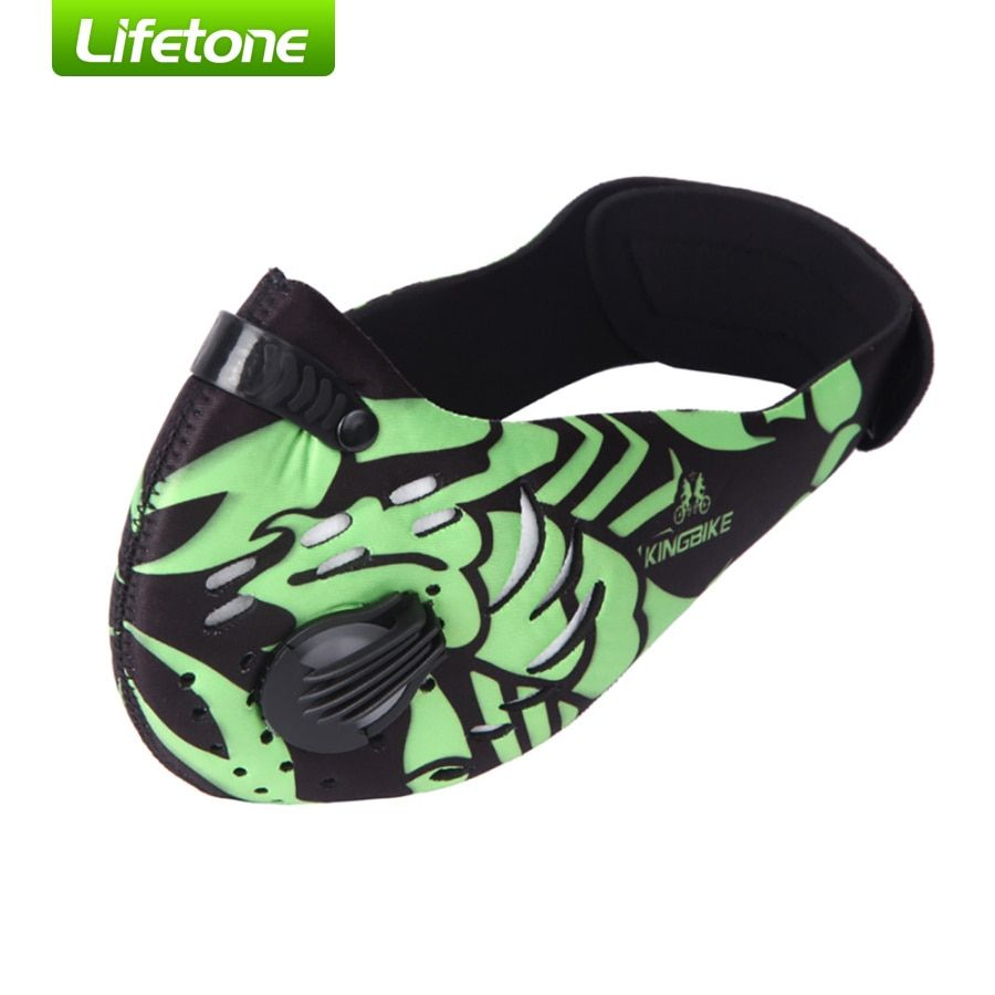 2016 KINGBIKE Cycling Face Mask Outdoor Sport Men Women Dustproof Activated Carbon Masks PM 2.5 Neoprene 10 Colors Running Mask