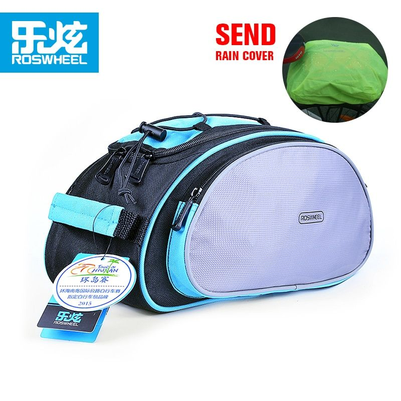ROSWHEEL After the bike shelf package Oblique cross carry bag after bag that mountain bike Cycling equipment back packs