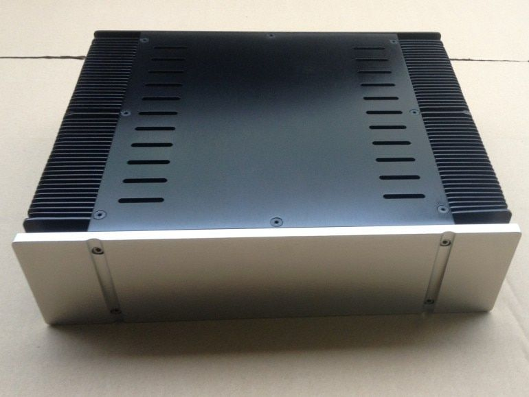 DIY AMP CASE 330*90*268mm 3390 Full aluminum Power amplifier chassis/Class-A Amplifier Chassis/AMP case Enclosure/ box DIY