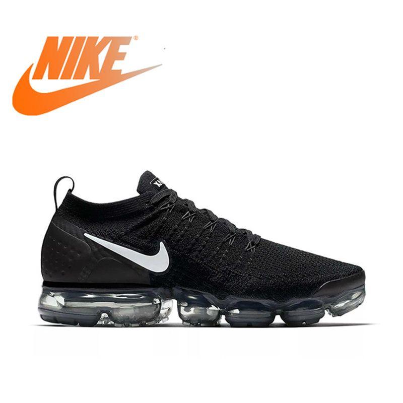 Officiel authentique NIKE AIR VAPORMAX FLYKNIT 2.0 chaussures de course pour hommes respirant sport chaussures de plein AIR Durable 942842