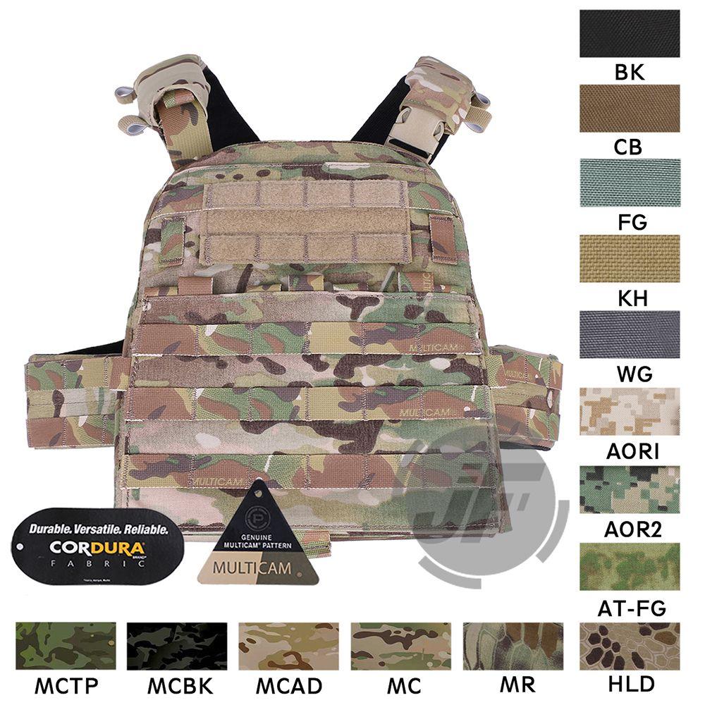 Emerson Tactical Adaptive Weste AVS Plate Carrier EmersonGear Körper Rüstung AVS Harness + Platte Pouch Set + Front MOLLE Klappe