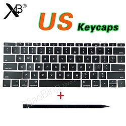 New Laptop A1706 A1707 A1708 Kunci Tombol Kami Amerika Serikat untuk MacBook Pro Retina 13