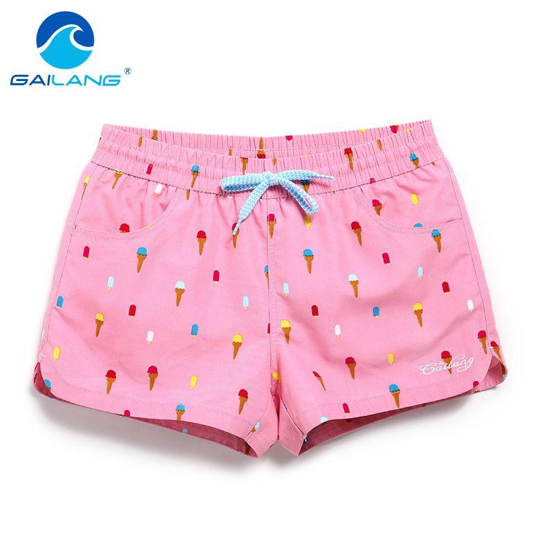 Gailang бренд Для женщин пляжные Пляжные шорты для будущих мам Защита от солнца Повседневное Active Шорты для женщин Jogger Треники женщина быстрая с...