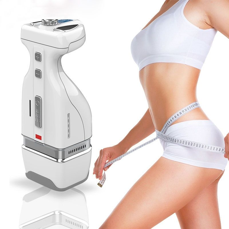 2019 neueste Mini HIFU RF Abnehmen Körper Bauch Fett Entfernung Massage 2IN1 Handliche HelloBody Gewicht verlust Abnehmen Maschine