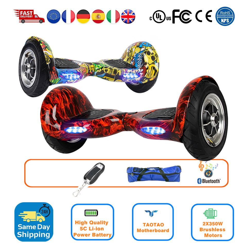 Smart Balance Rad 10 Hoverboard Trike Drift Räder Selbst Ausgleich Roller Gyroscooter Elektrische Roller Russland Lager