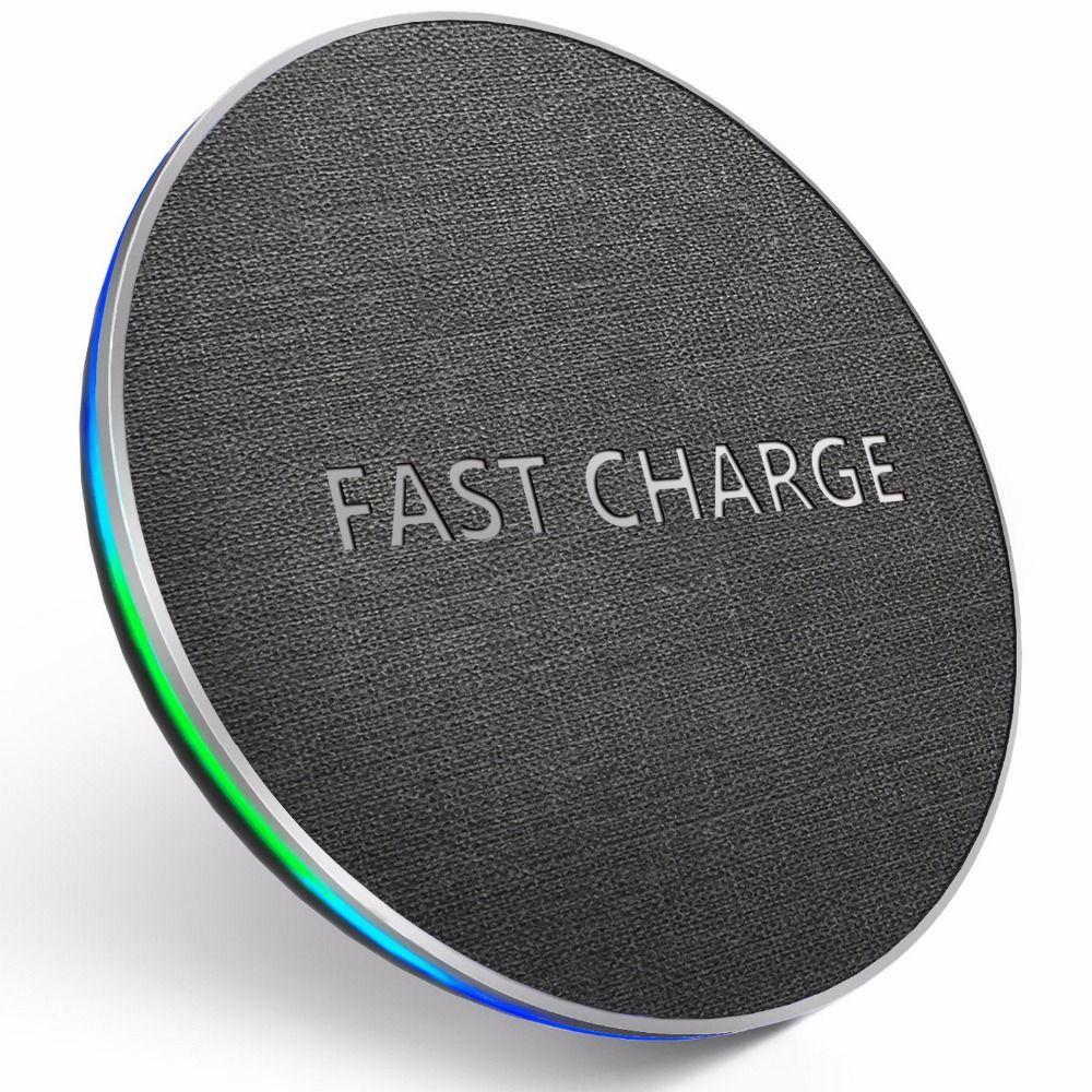 GETIHU 10 W chargeur rapide sans fil qi Pour iPhone X XR XS MaX 8 Samsung Note 8 S8 S9 Plus S7 S6 Bord téléphone Sans Fil De Charge Charge