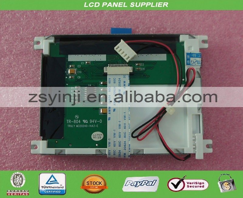 M320240-14A3-E TR-804 industry LCD Panel for RPB-100 screen