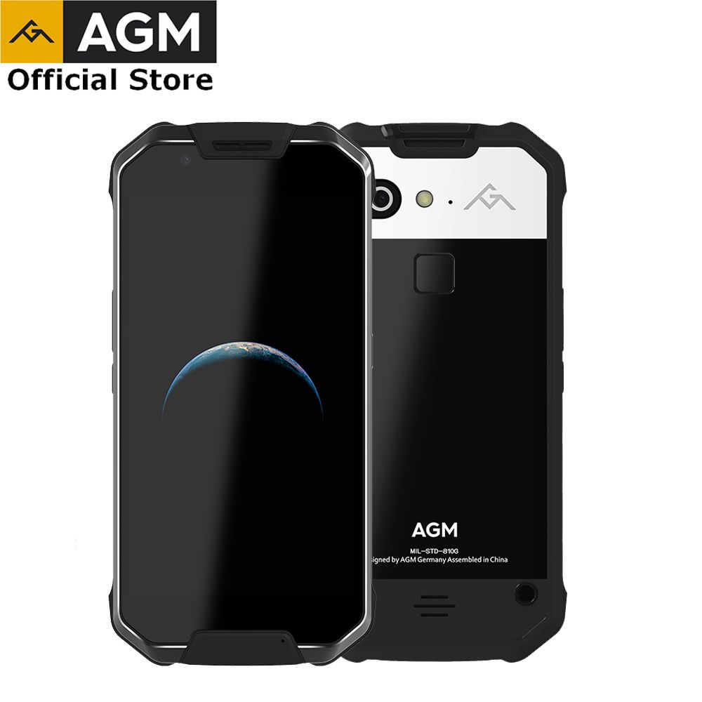 OFFICIAL AGM X2 SE 6G+64G Android 7.1 Mobile Phone 5.5