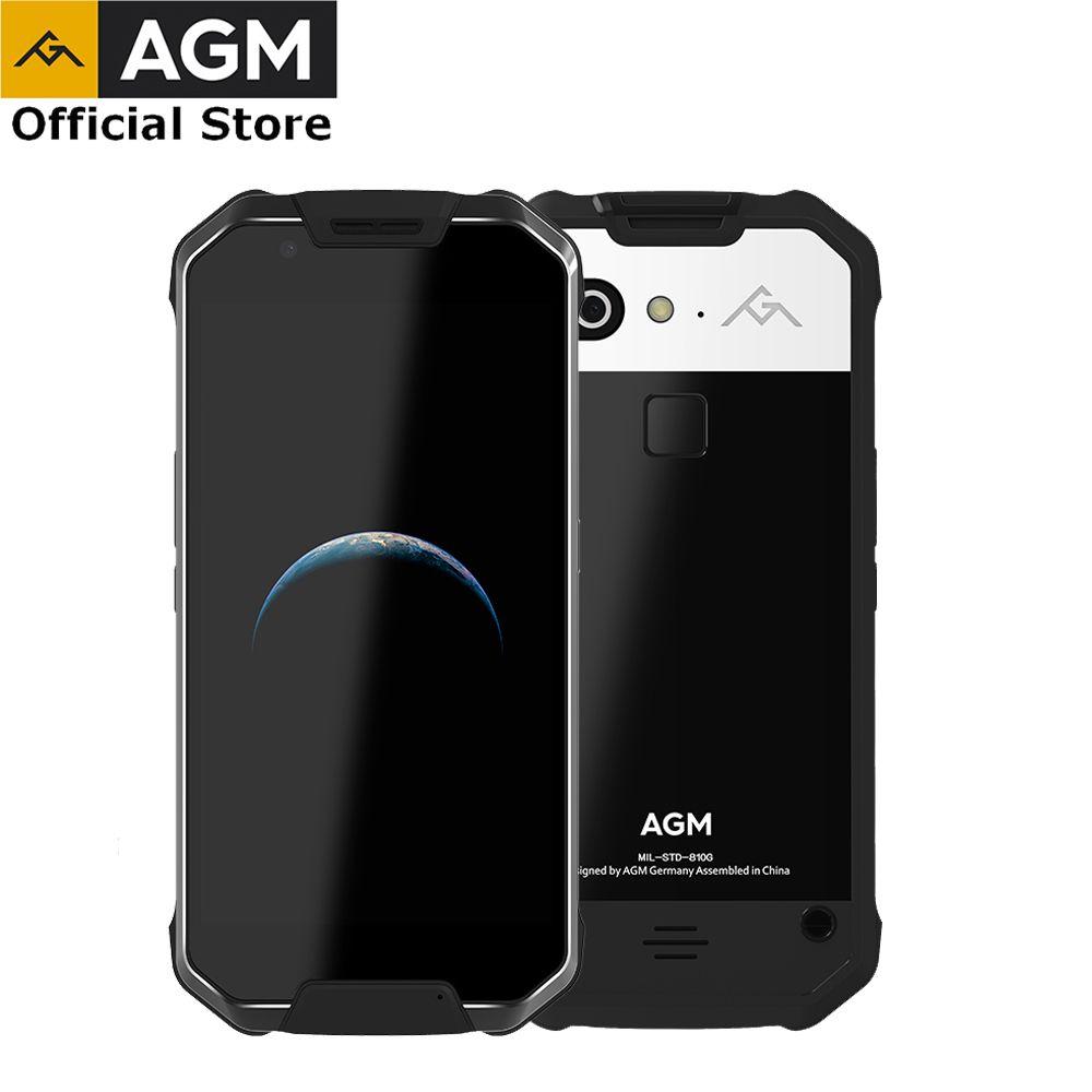 OFFIZIELLE AGM X2 SE 6g + 64g Android 7.1 Handy 5,5 FHD AMOLED Bildschirm IP68 Wasserdichte 6000 mah Robuste Telefon Dual SIM 16,0 MP