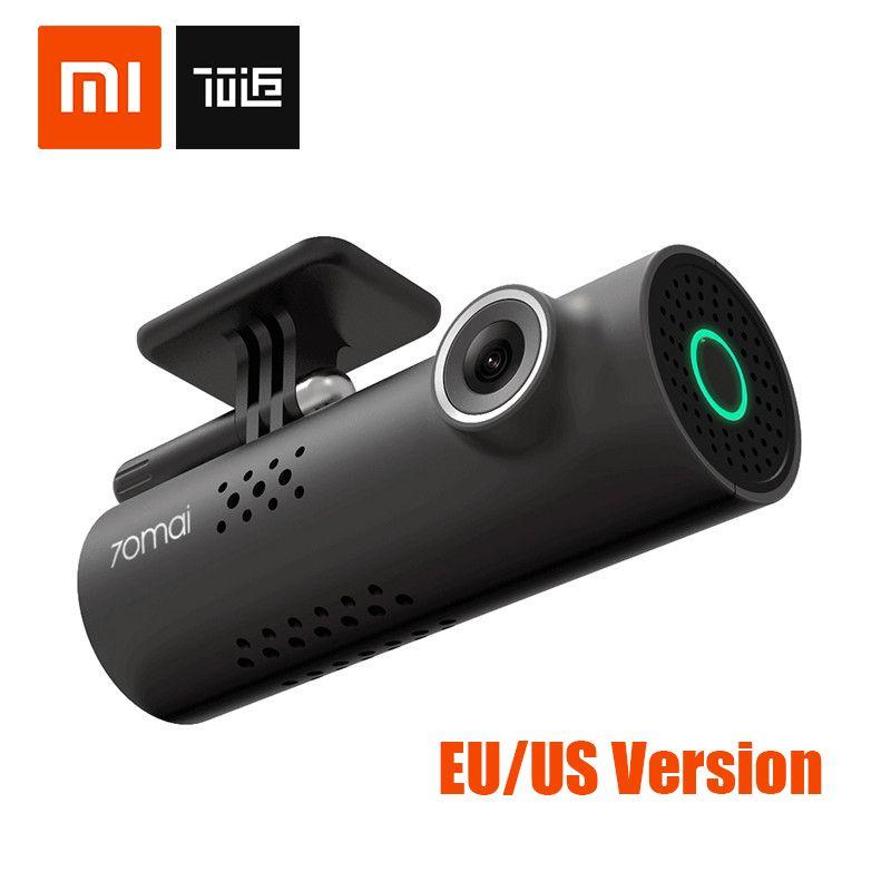 Xiaomi 70 minutes Car Smart DVR 70mai English Version WIFI Wrieless Dash Cam 1080P 130 Degree Wide Angle IMX323 <font><b>Voice</b></font> Control