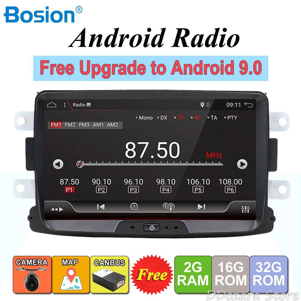 Android 8.1 autoradio 1 din Für Duster/Dacia/Sandero/Logan/Captur/Lada/Xray auto multimedia player kamera kassetten recorder
