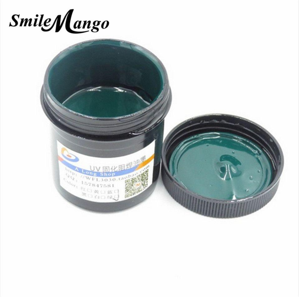 PCB UV Photosensitive Inks Green PCB UV Curable Solder Resist Ink Solder Mask UV Ink Paste