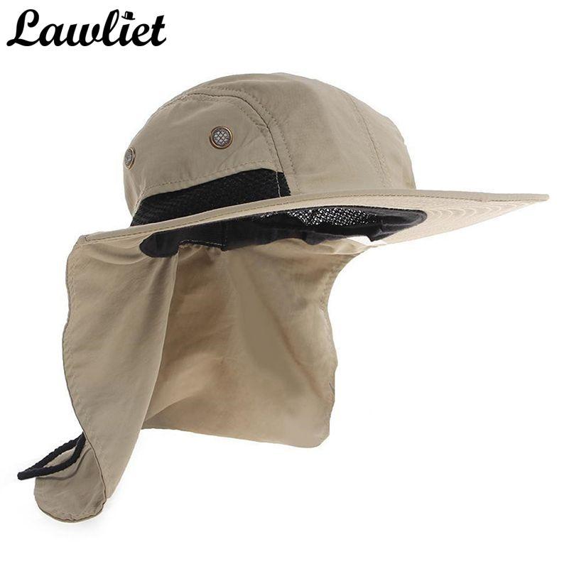 Nouvelle marque Chapeau Chapeau de soleil pour homme parasol pêche seau Chapeau Chapeau d'été escalade montagne Jungle randonnée femmes UV Protection chapeaux