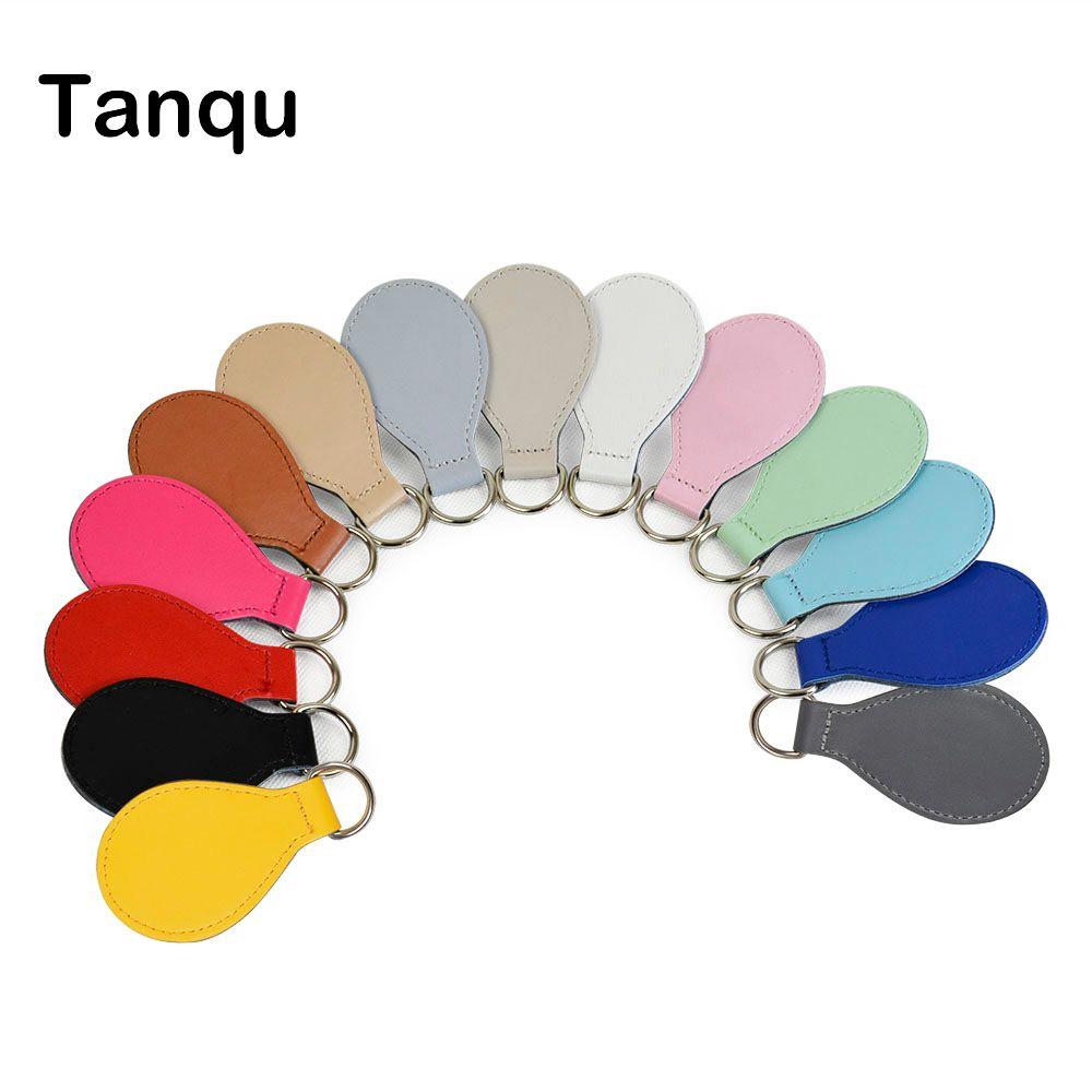 TANQU 2017 New 2 pair 4 pc shiny Drop End for Obag handle PU Drop attachment for O bag Obasket DIY women Bag