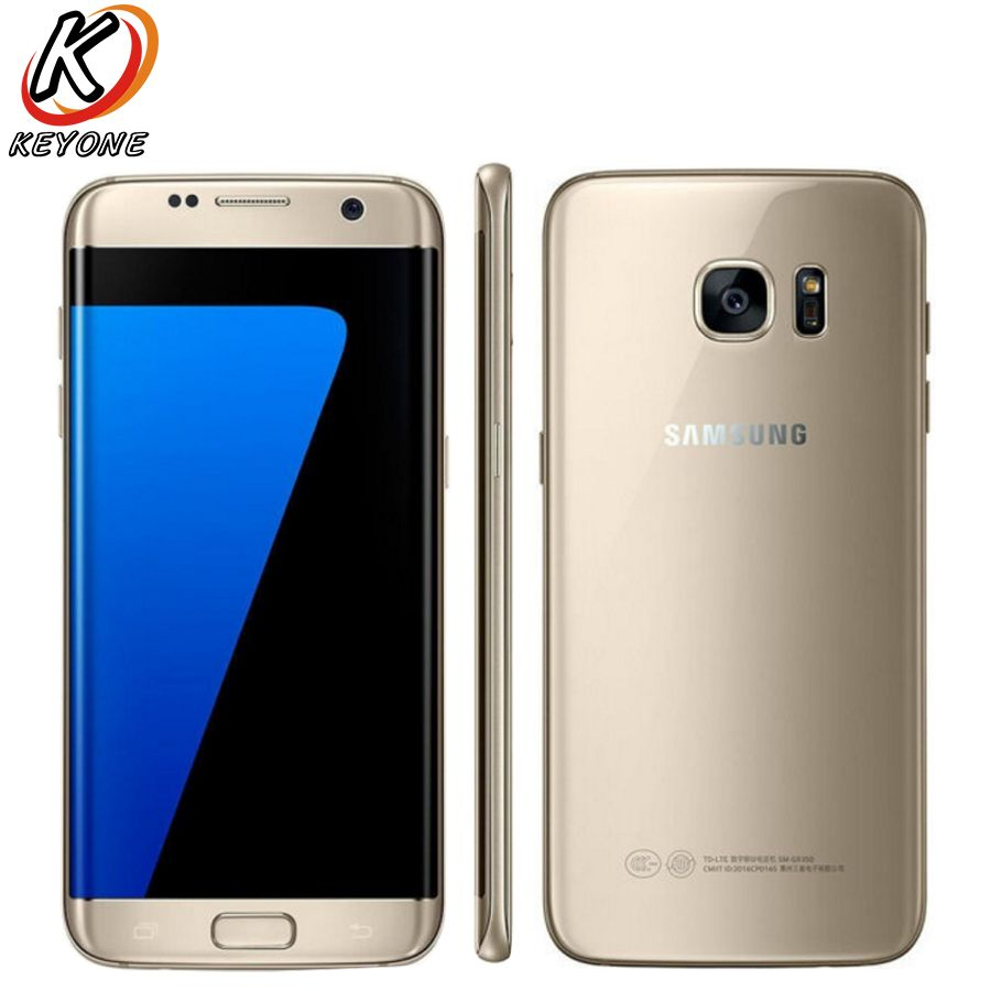 Original Samsung Galaxy S7 Edge G9350 LTE Mobile Phone 5.5