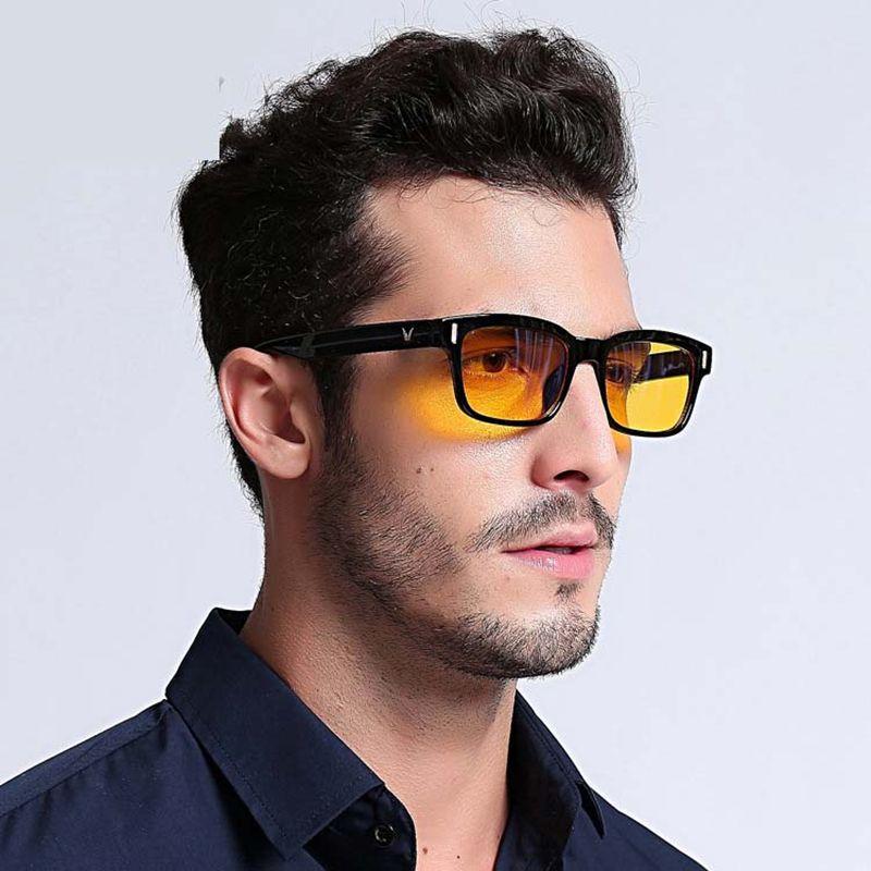 Blue Ray Computer Glasses Men Screen Radiation Eyewear Brand Design Office Gaming Blue Light Goggle UV Blocking Eye Spectacles
