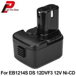For Hitachi EB1214S DS12DVF3 2.0Ah 12V NI-CD power tool replacement battery FWH12DF,EB1220HL,DS12DVF2,EB1220HS,WH12DM2,EB1230X
