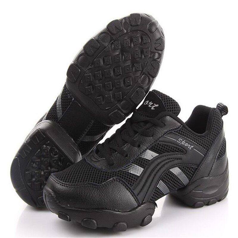 Резиновая подошва для мужчин танцевальная обувь дышащая Спортивная обувь в латинском стиле джаз обувь танцевать Спортивная обувь