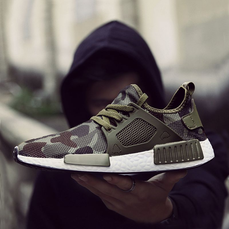 New Outdoor Military Camouflage Men Casual Shoes Autumn Krasovki Smith Men Army Green Trainers Ultra Boosts Zapatillas Hombre