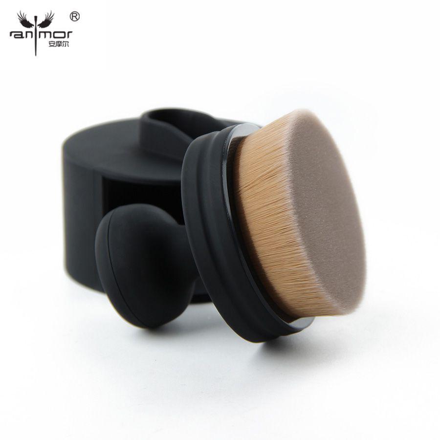 Nouvelle Arrivée Fondation Brosse Unique Conception Maquillage Brosses de Haute Qualité Ronde Make Up Brosses Pour Liquide Cosmétique Produits