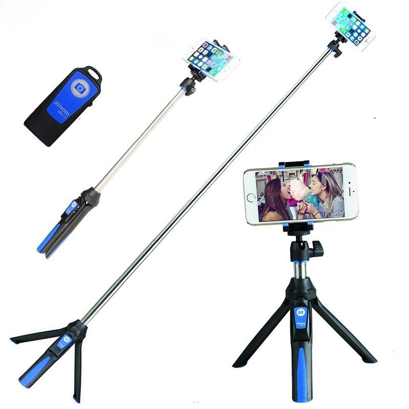 Ulanzi Handheld & <font><b>Tripod</b></font> Combo Selfie Stick with Bluetooth Remote & GoPro Exclusive Adapter For iPhone 7 Sumsang Galary Huawei