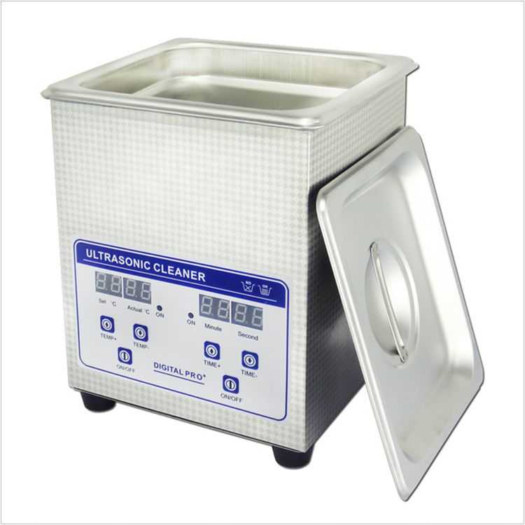 03 JP-010S Digital Ultrasonic Cleaner 1.6L 60W Jewelry PCB Hardware Parts Medical Ultra sonic Washing Machine AC110V/220V