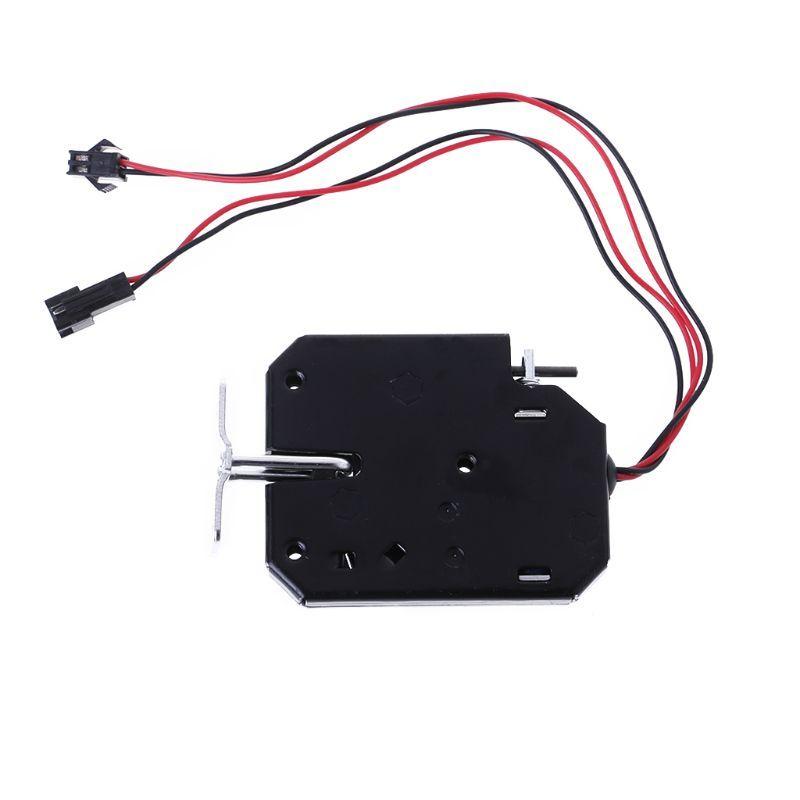 Magnetischen Verriegelung Türschloss Elektrische Tropfen Bolt Picks Auto DC 12 v 2A Magnet Induktion Access Control Datei Fall Schrank schublade Lock