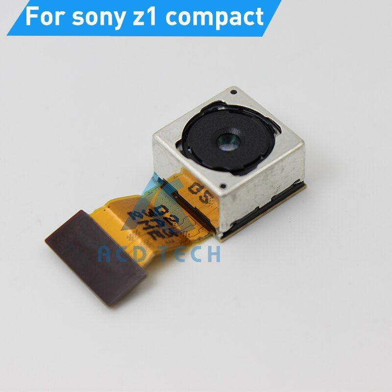 Original Rear Main Back Camera For Sony Xperia Z1 Compact M51W Z1mini Big Camera Flex Cable Replacement Parts Fast Shipping