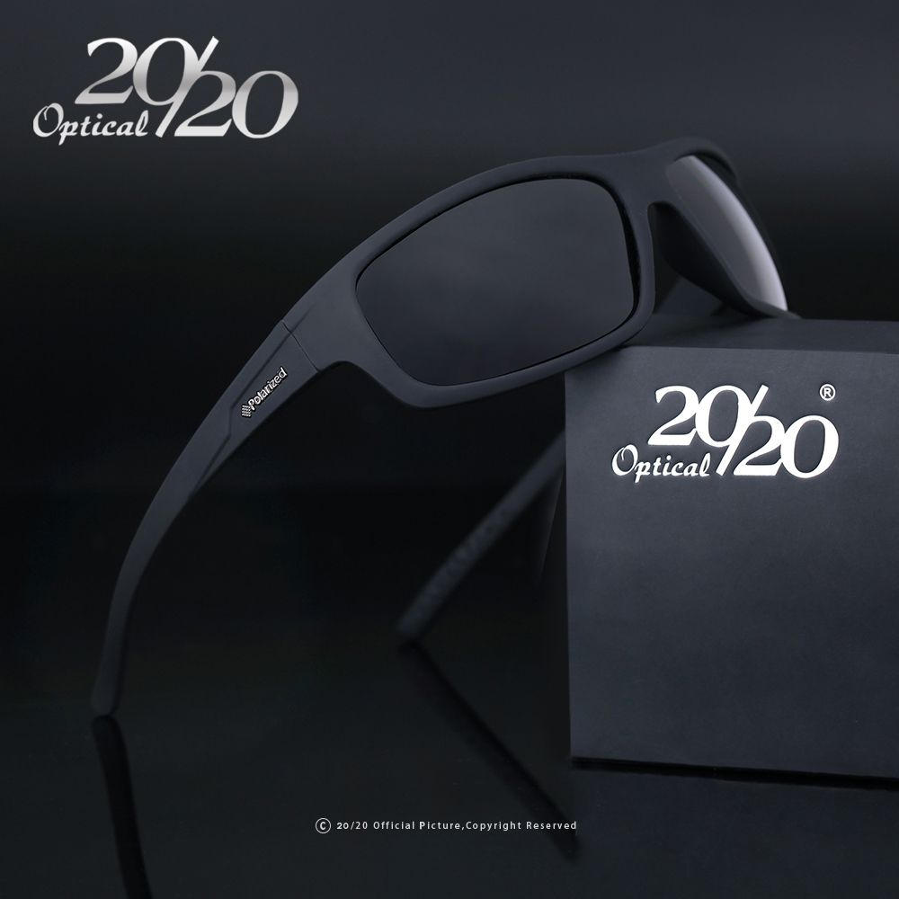 20/20 Optical Brand Design New Polarized Sunglasses Men Fashion Male Eyewear Sun Glasses Travel Fishing Oculos Gafas De Sol PL66