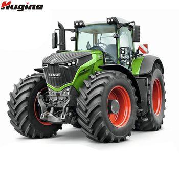 RC грузовик сельскохозяйственный трактор 2,4 г дистанционное управление прицеп самосвал/грабли 1:16 высокая имитация 38,5 см строительный автом...
