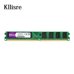 Kllisre DDR2 2 GB Ram 800 Mhz 667 Mhz 1,8 V без ecc памяти для рабочего стола dimm
