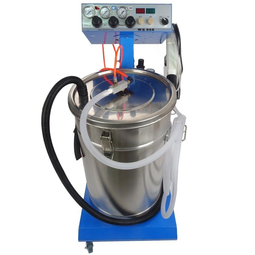 1pc Electrostatic Powder Coating machine Electrostatic Spray Powder Coating Machine Spraying Gun Paint