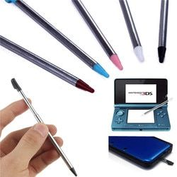 New High Quality 4pcs/lot Metal Retractable Stylus Touch Screen Pen For Nintendo For 3DS For 3DSXL/LL Game Accessory