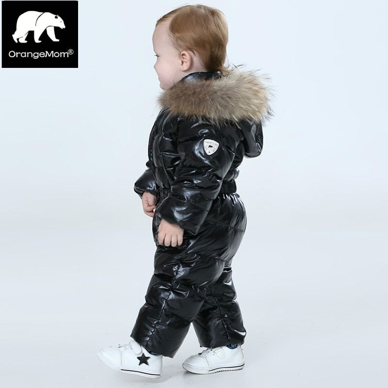 Orangemom tienda oficial bebé mono de invierno, cálida ropa de abrigo y abrigos chaqueta para niñas, muchachos de la ropa del bebé de la nieve parka desgaste