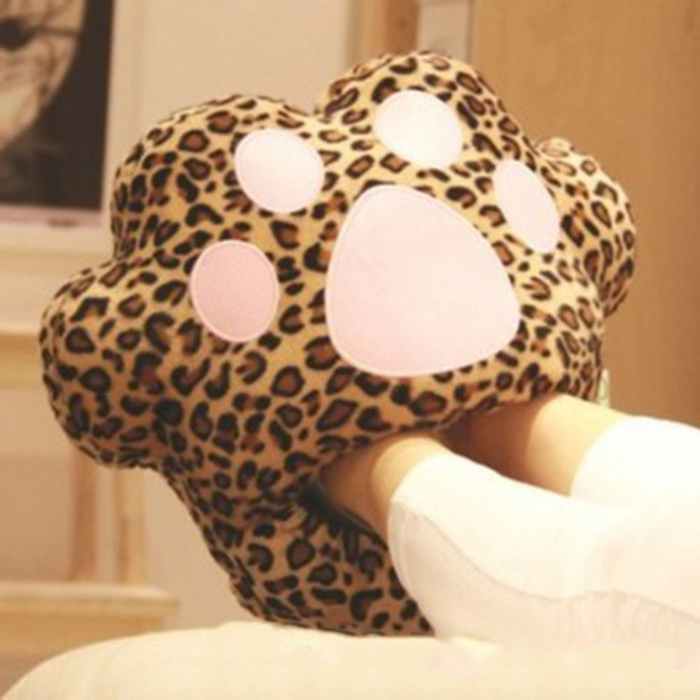 1pc/lot Big Feet Warm Slippers New Cartoon USB Foot Warmer Shoes Computer PC Electric Heat Slipper Popular NewBrand New