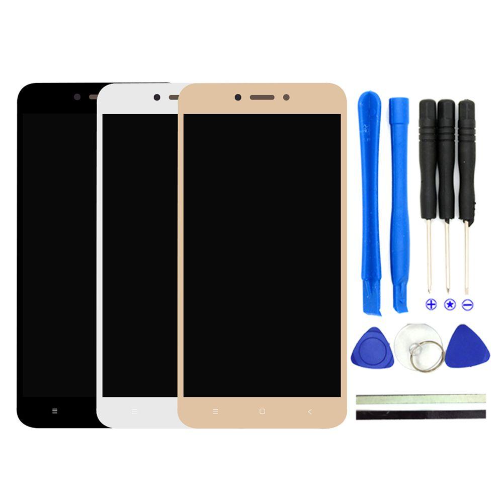 2017 Nouveau Pour Xiaomi Redmi 4X LCD Affichage Digitizer + Écran tactile de Remplacement 5.0 pouces Redmi 4X Téléphone Pièces Avec Livraison outils
