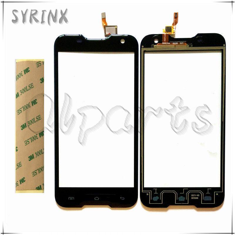 Syrinx Mobile Téléphone Façade En Verre Écran Tactile Pour Blackview Bv5000 Écran Tactile Digitizer Panneau + Bande Remplacement Livraison Gratuite