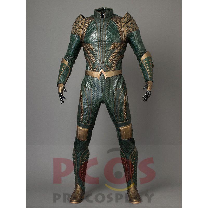 Procosplay Justice League Film Aquaman Arthur Curry Cosplay Kostüm & Keine Schuhe mp003660