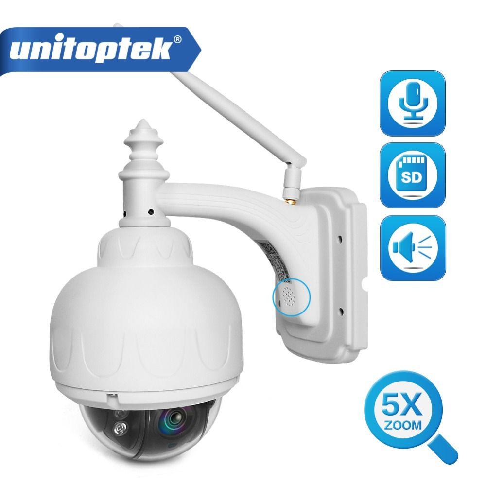 Volle HD 1080 P 960 P PTZ Wireless Speed Dome IP Kamera Wifi Im Freien Sicherheit CCTV 2,7-13,5mm auto Focus 5X Zoom Sd-karte ONVIF P2P