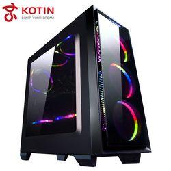KOTIN S18 AMD Desktop AMD Ryzen 7 1700 COLORFUL GTX1060 5G 1TB HDD OPTANE B350M Motherboard 8G RAM Frees RGB Fan PUBG 400W PSU