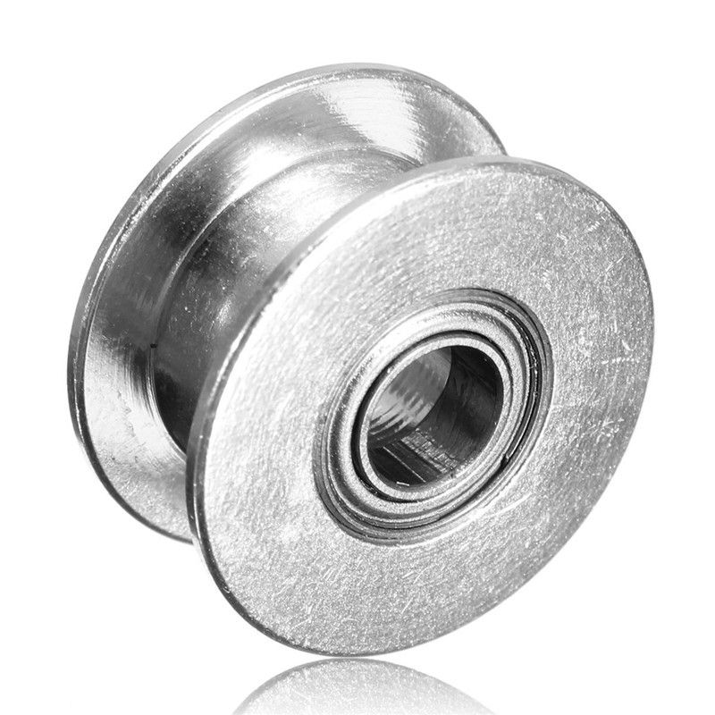 Timing Gear Pulley Without tooth Idle Pulley synchronous Round 5mm For GT2 Belt Width 6MM Power Transmiss 3D Printer Accessories