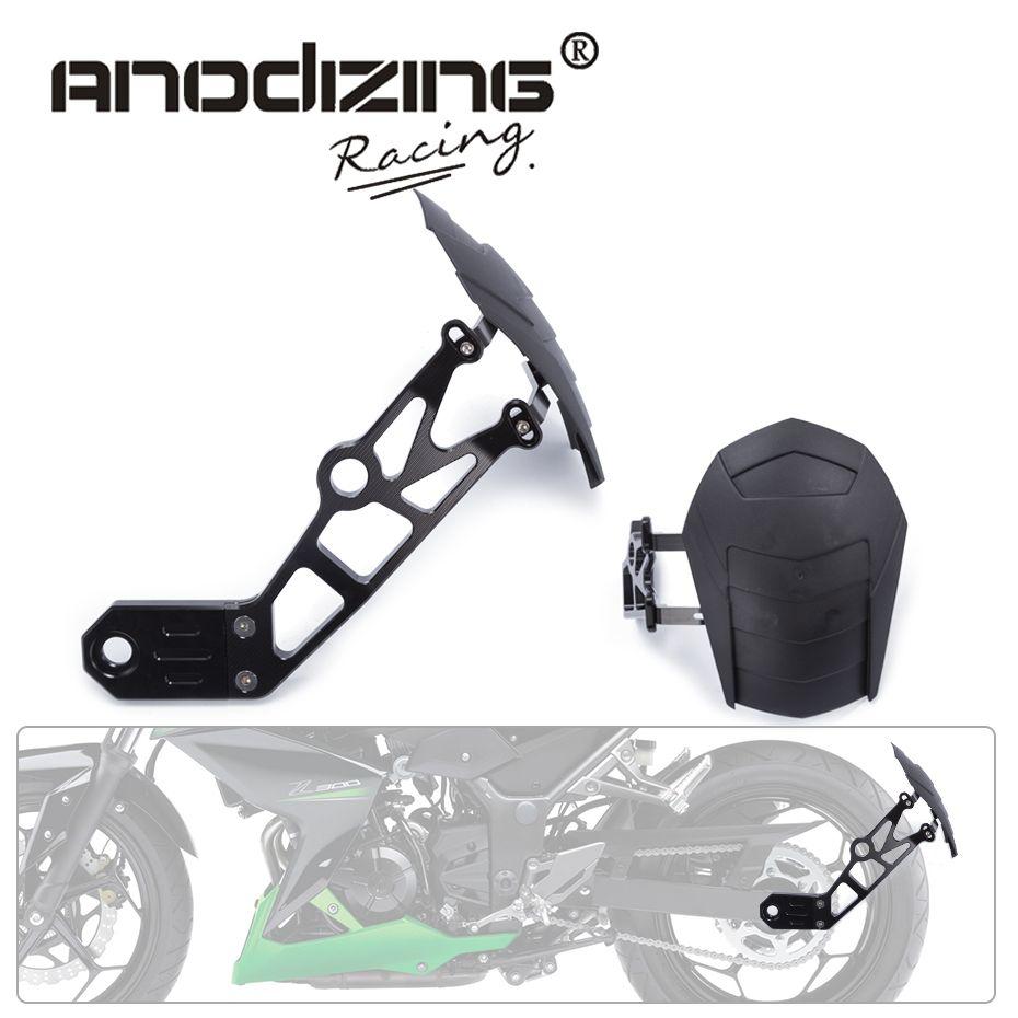 FREIES VERSCHIFFEN Motorrad Zubehör Kotflügel Hinten Kotflügel Hinten Rad Fender Für Kawasaki Z800 2010-2016