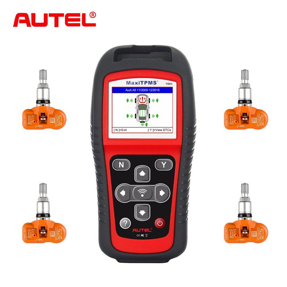 Autel MaxiTPMS TS501 TPMS Service tool TPMS systeme tire pressure monitoring system mit 315 MHz Programmierbare Sensoren